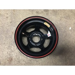 Fælg Bassett 13lb Inex wheel black